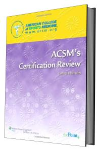 کتاب ACSM Certification Review